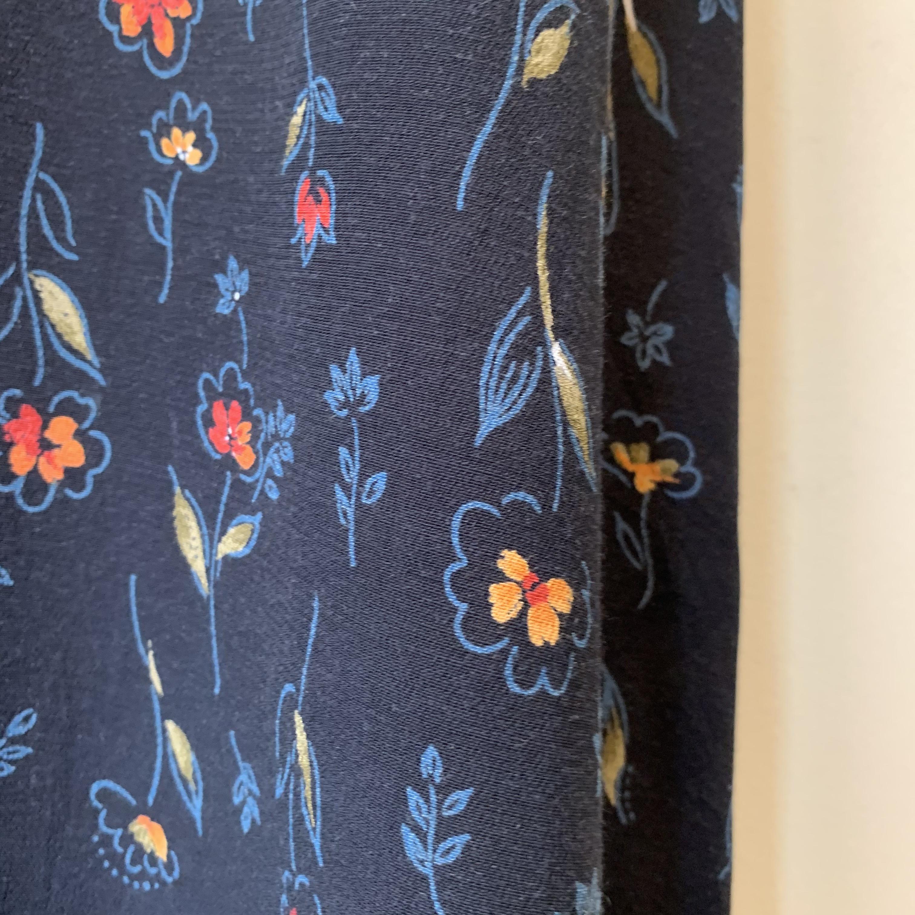 vintage flower design onepiece