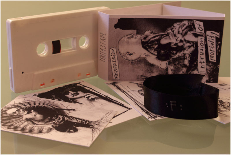 FEBERDROM - INTRUSION OF MORTALITY  C42  Tape - 画像2