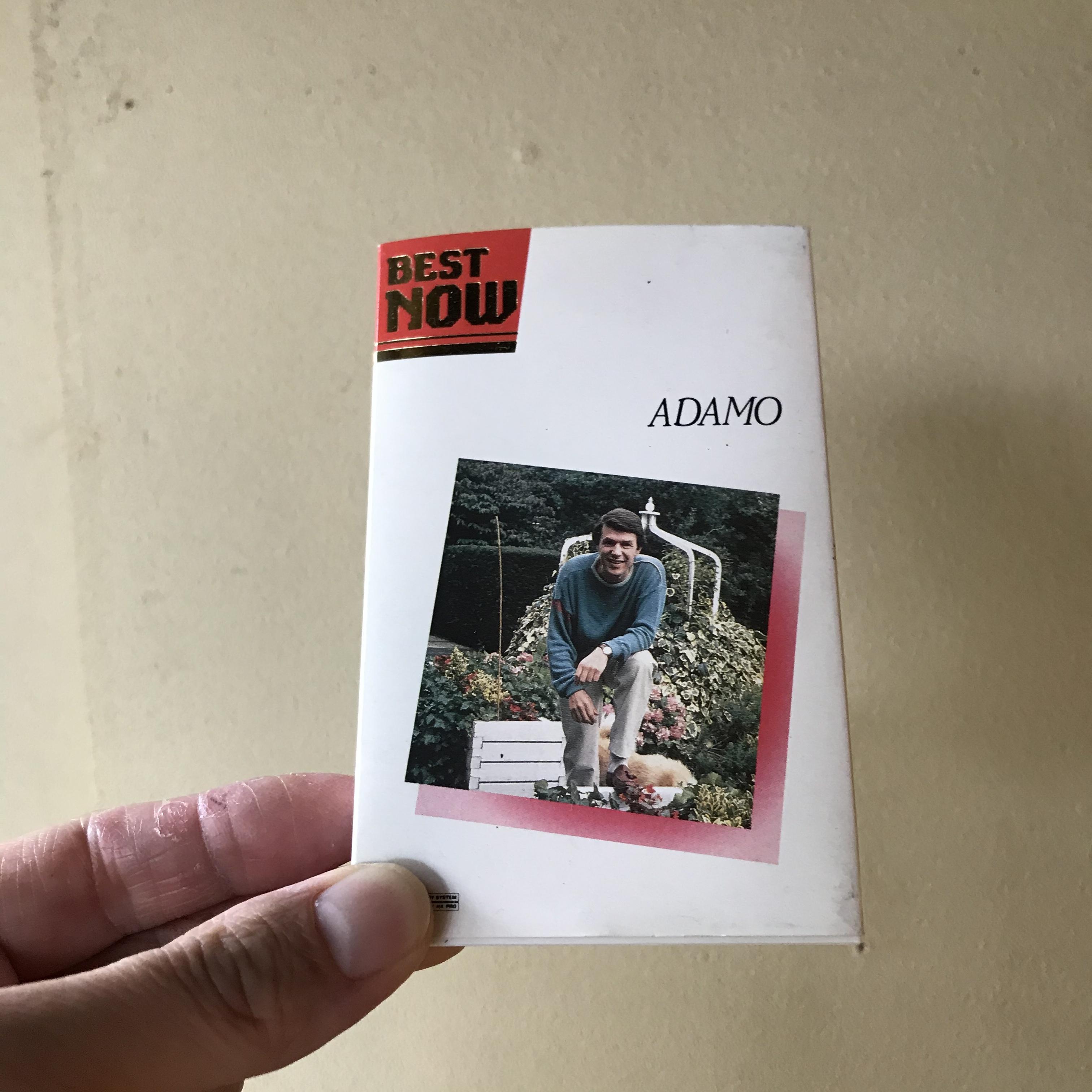 【中古】ADAMO/BEST(カセット)