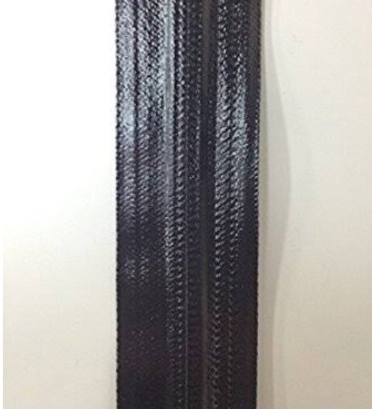 YKK 止水ファスナー アクアガード AQUARD  5C つやあり 黒 チェーン 10m