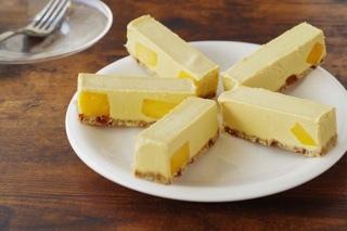 【マンゴー】ヴィーガンローケーキ(5本セット)※ 卵・バター・乳・小麦・白砂糖不使用