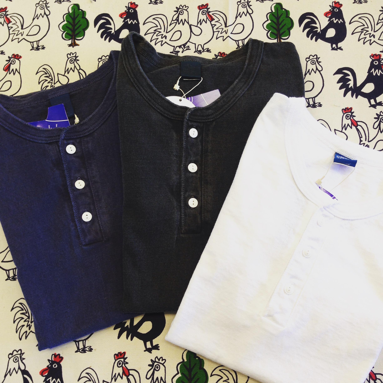 Good On(グッドオン)L/S HENLEY TEE / ロングスリーブヘンリーTシャツ