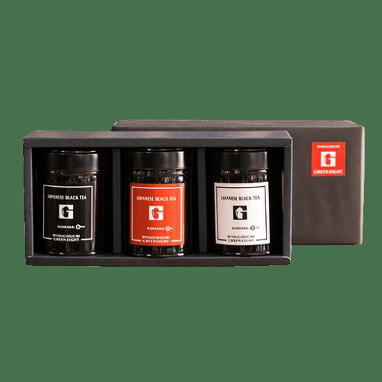 グリーンエイト和紅茶セット(3缶) Green Eight Original Black Tea(3cans)