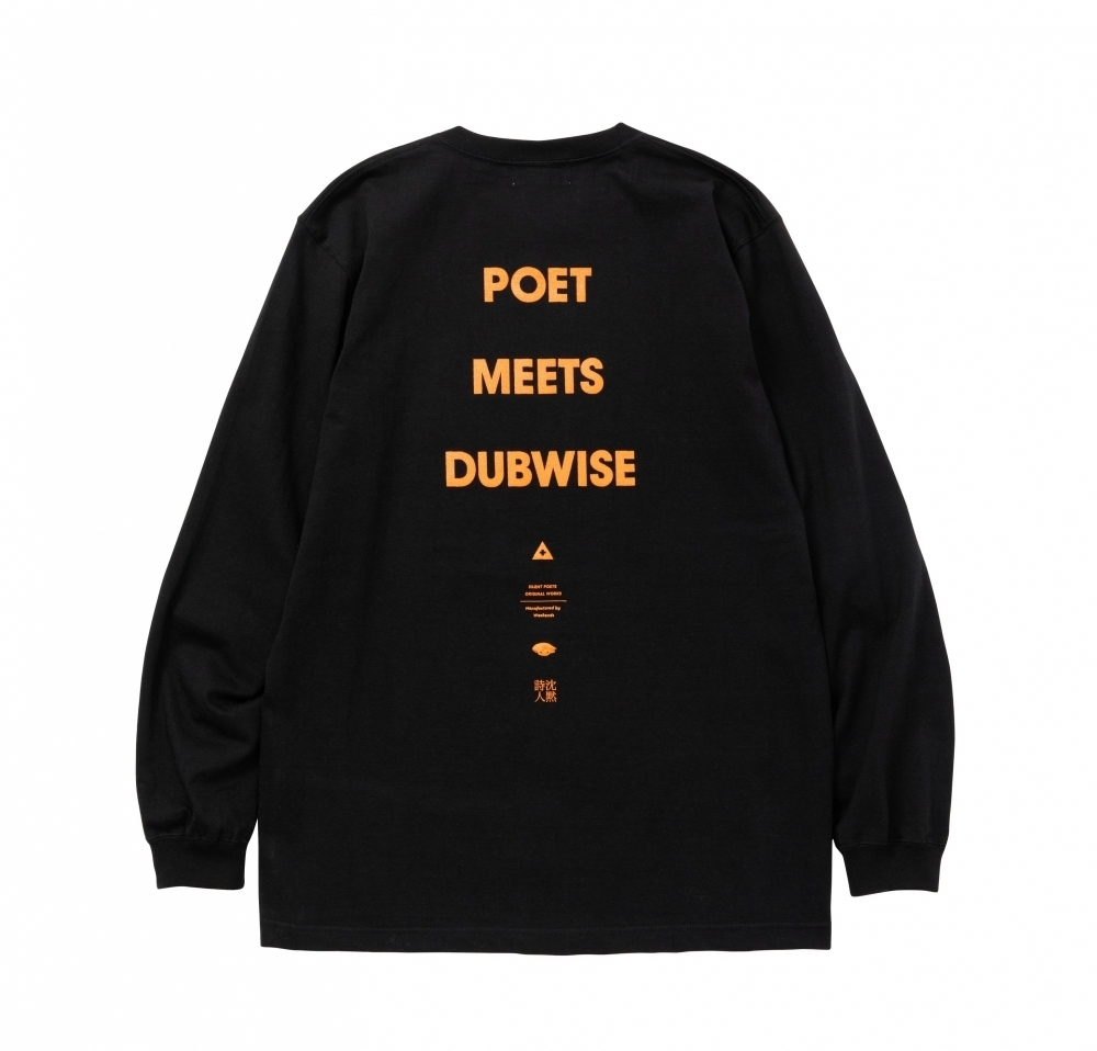 POET MEETS DUBWISE / LONG SLEEVE LOGO TEE