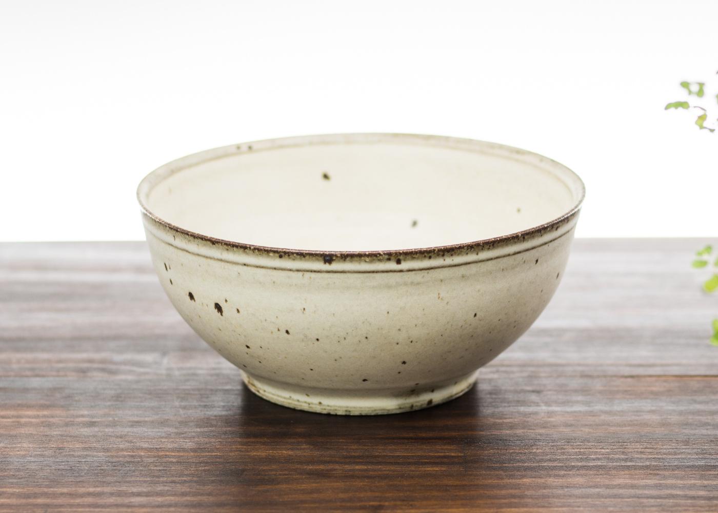 粉引き 深鉢 A/くるり窯