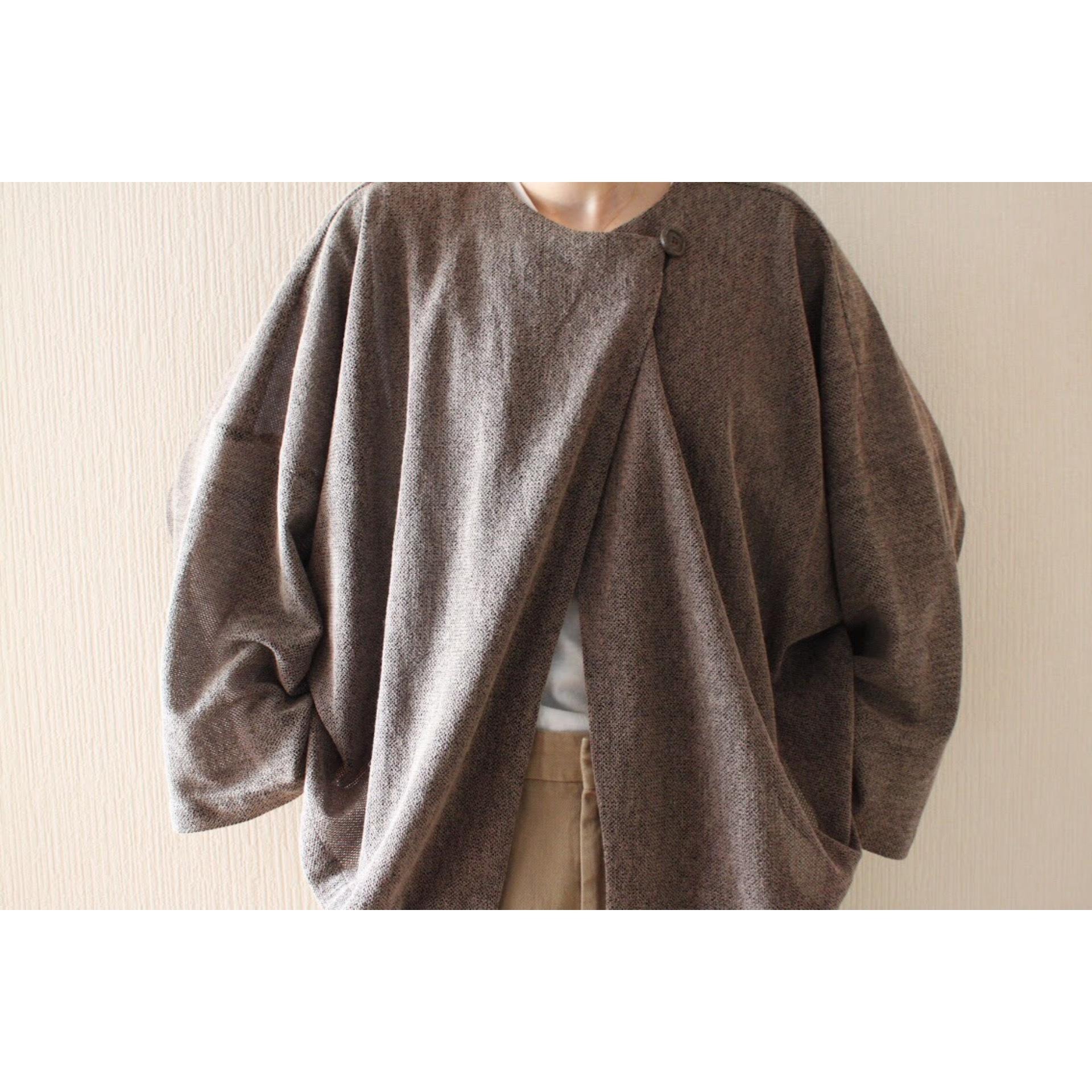 Vintage drape jacket