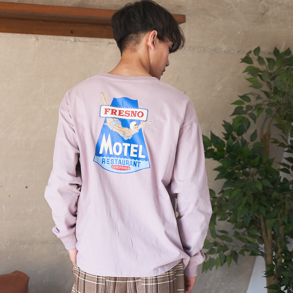 motelプリントロンT<AMERICAN SHOP SIGN> NO0701007