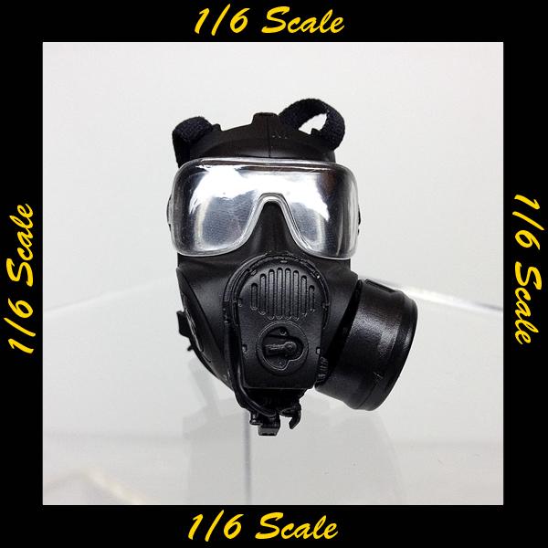【02002】 1/6 DID LAPD SWAT 2.0 プロテクティブマスク