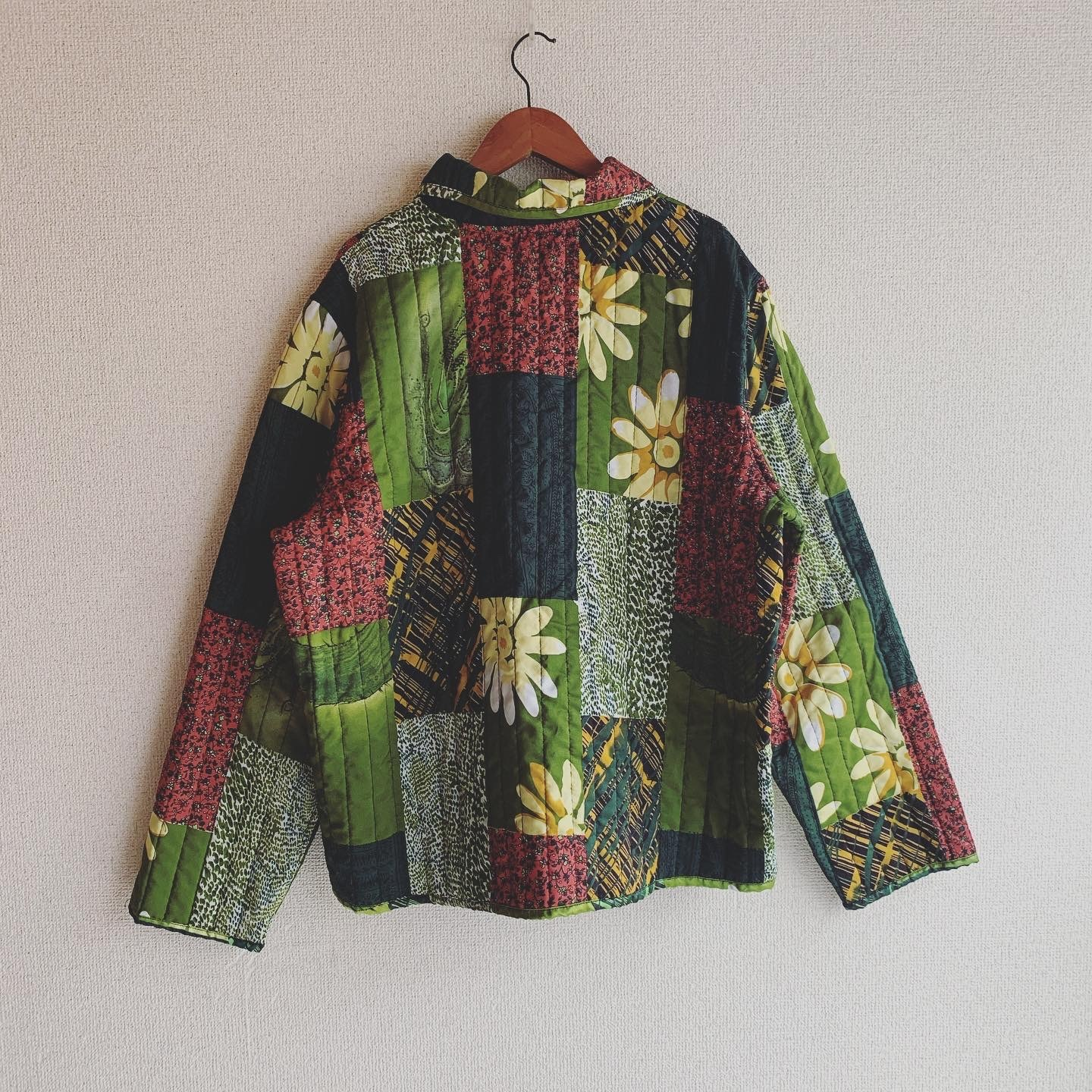 【SALE】vintage quilting jacket