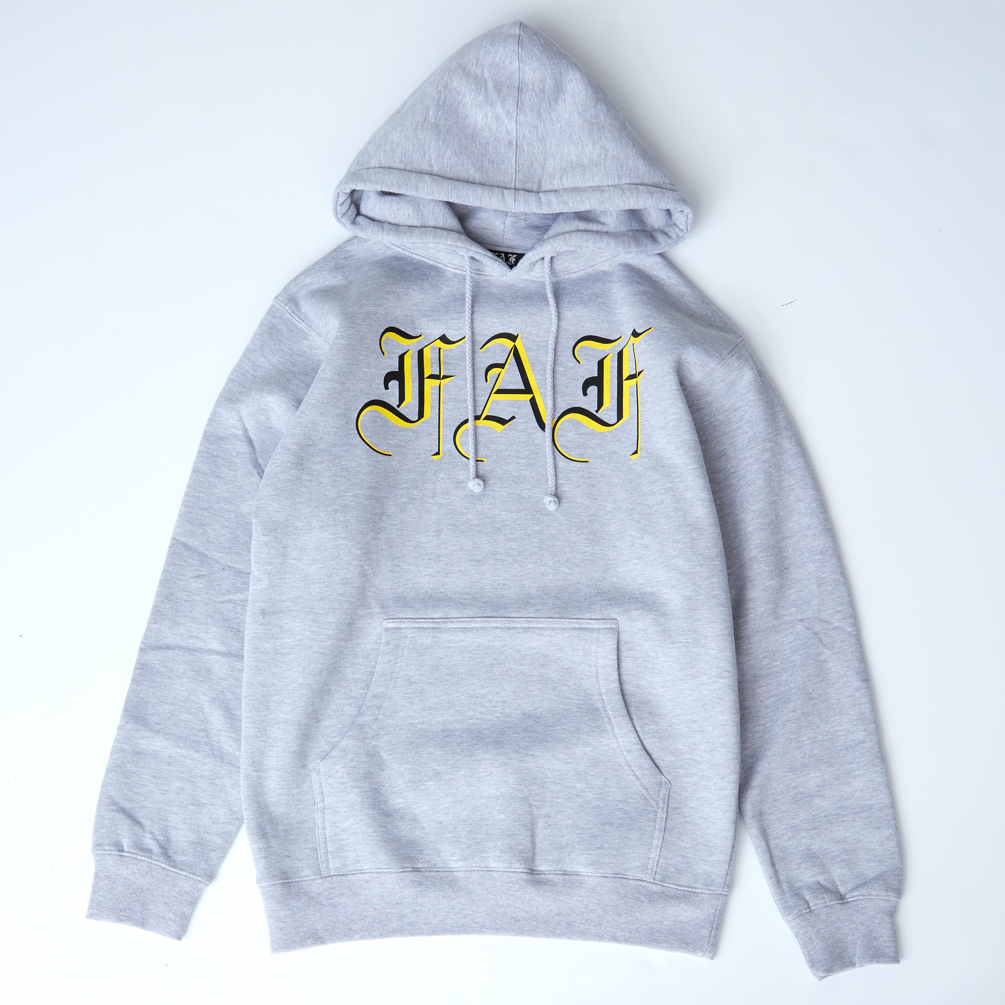 FAF TYPOGRAPHICAL HOODIE - 画像1