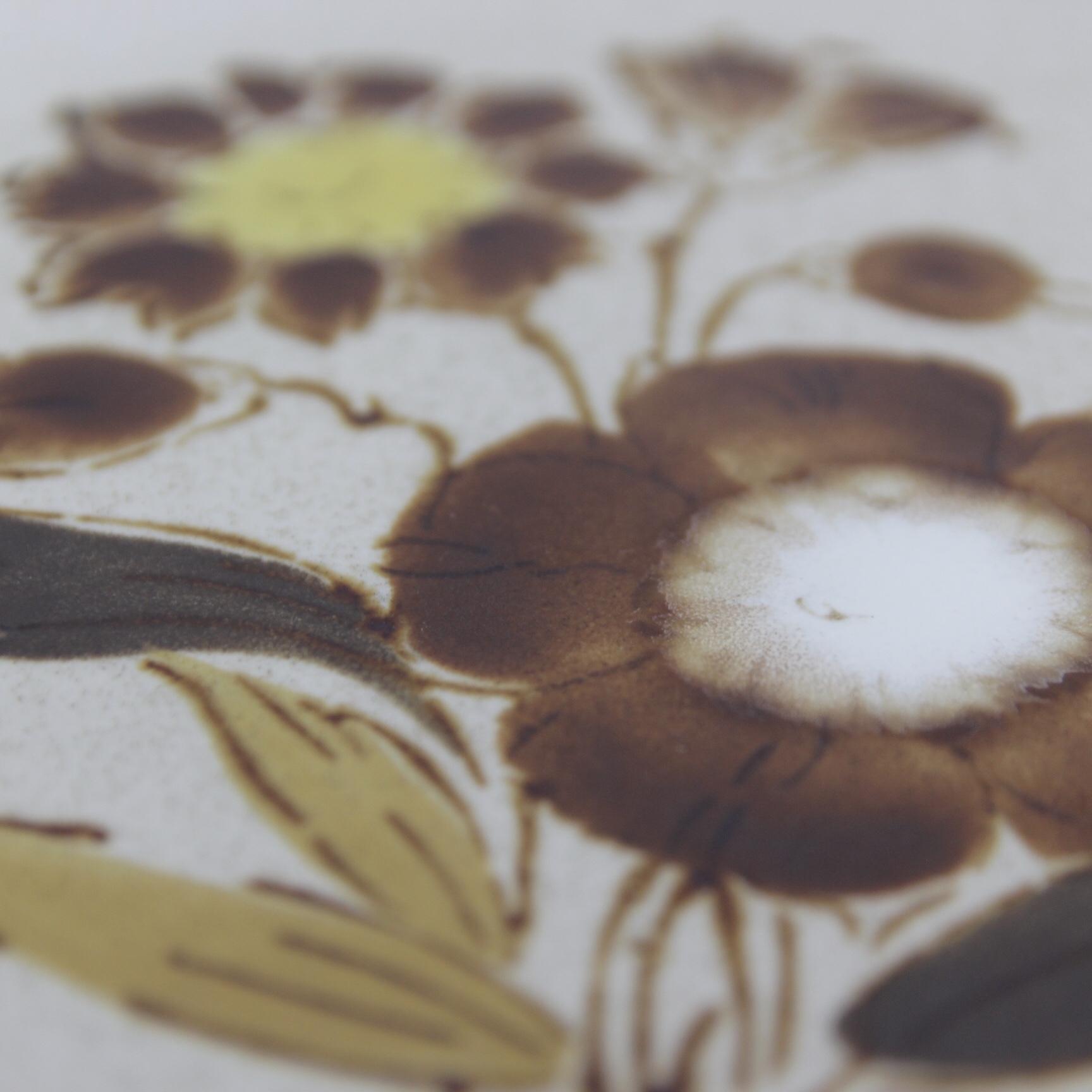 yamaka classic craft 花柄ストーンウェア 在庫5枚