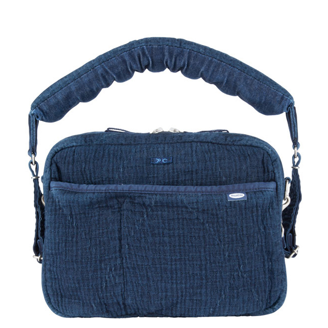 NEWTON PC SASHIKO SHOULDER BAG