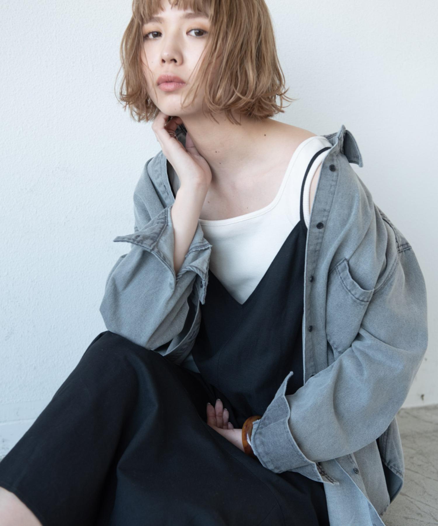 カラーケミカルデニムシャツ/OTHER