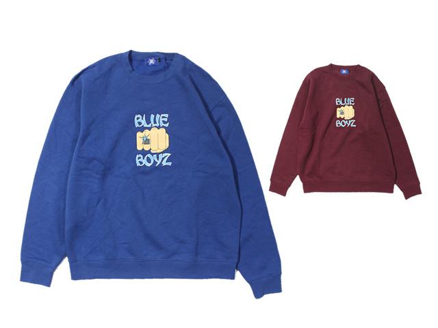 blueboyzsportsclub|BB Fist Crewneck