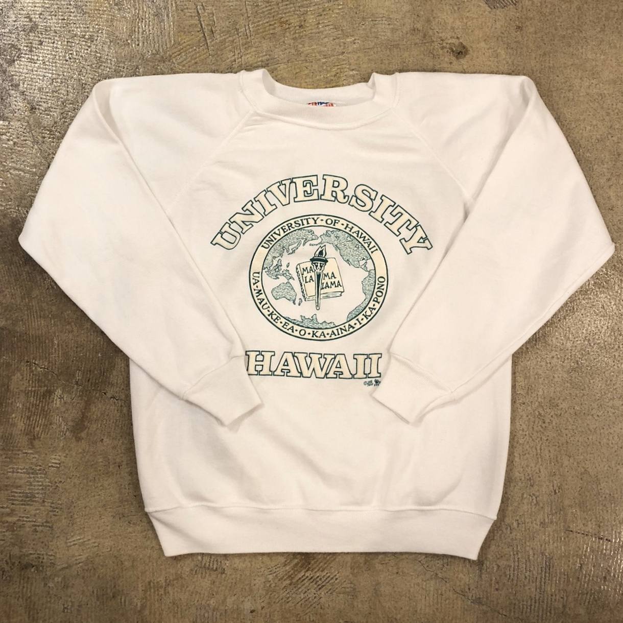 University Of HAWAII Sweat ¥5,400+tax