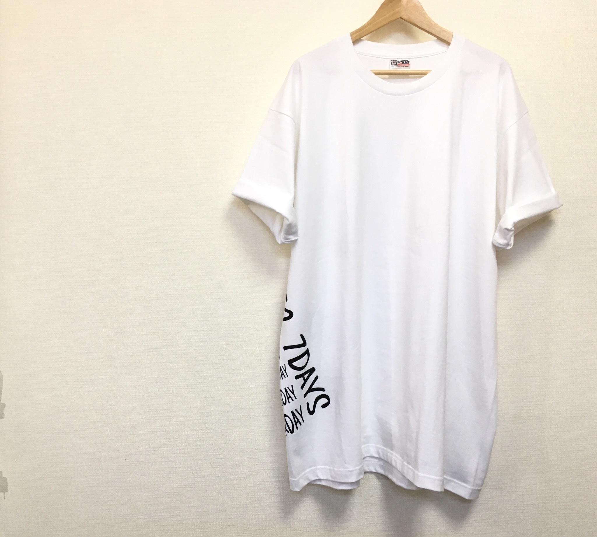 a62e866a6ed41 メンズ5XL!!着ると可愛い!超ビッグTシャツ(ホワイト)/ 白Tおしゃれ 大きいサイズ レディース オーバーサイズチュニック 男女兼用