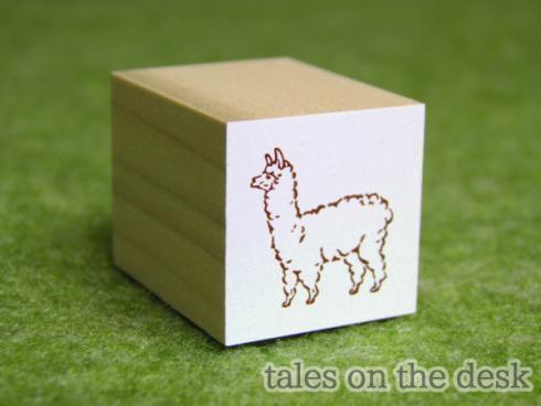 スタンプ - アルパカ - tales on the desk