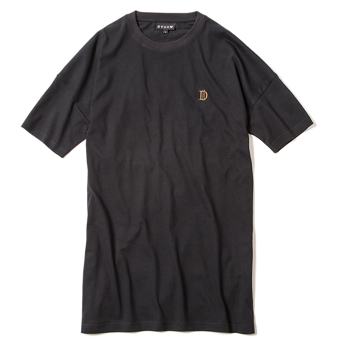 Deviluse(デビルユース) | D Long Length T-shirts(Black)