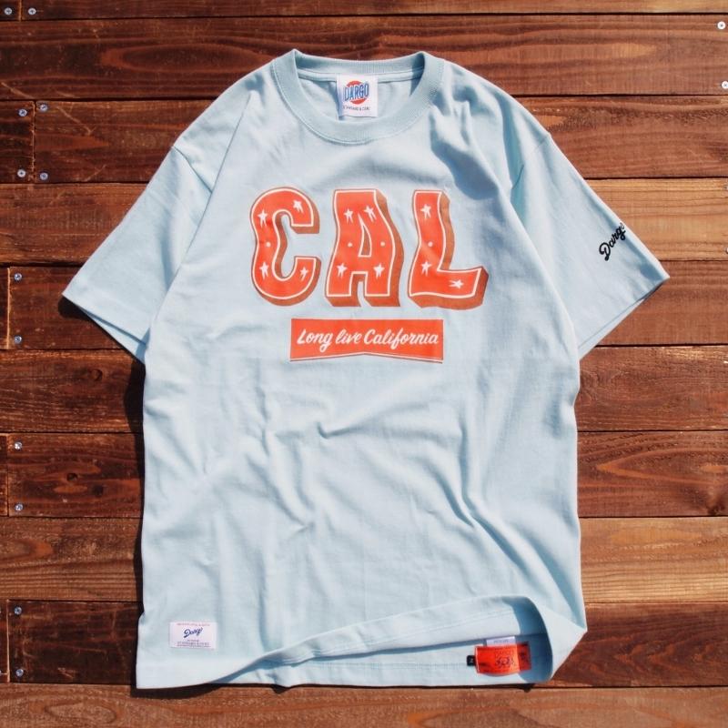 """【DARGO】""""CAL"""" T-shirt (FROST SKY)"""