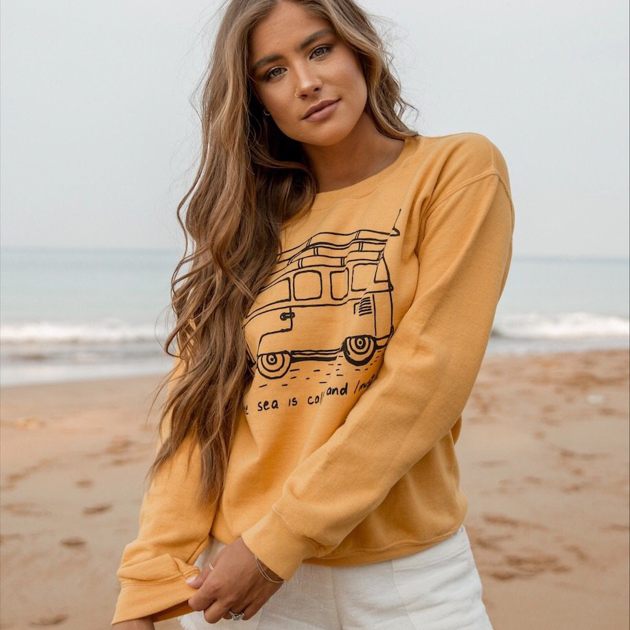Sea Is Calling Sweater