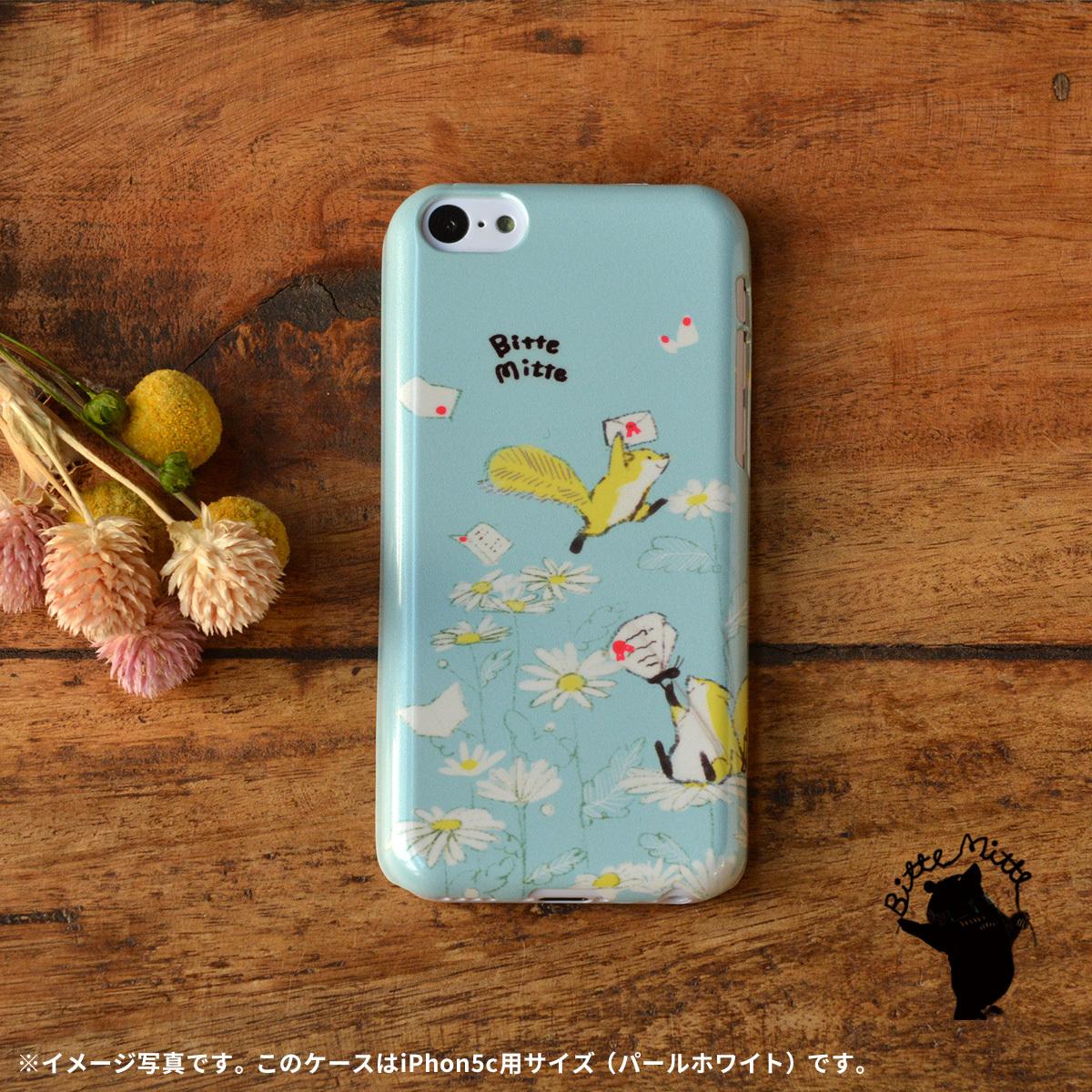 【限定色】iphone5c ケース ハードケース アイフォン5c ケース ハード iphone5c ケース キラキラ かわいい りす キラキラ リスと郵便