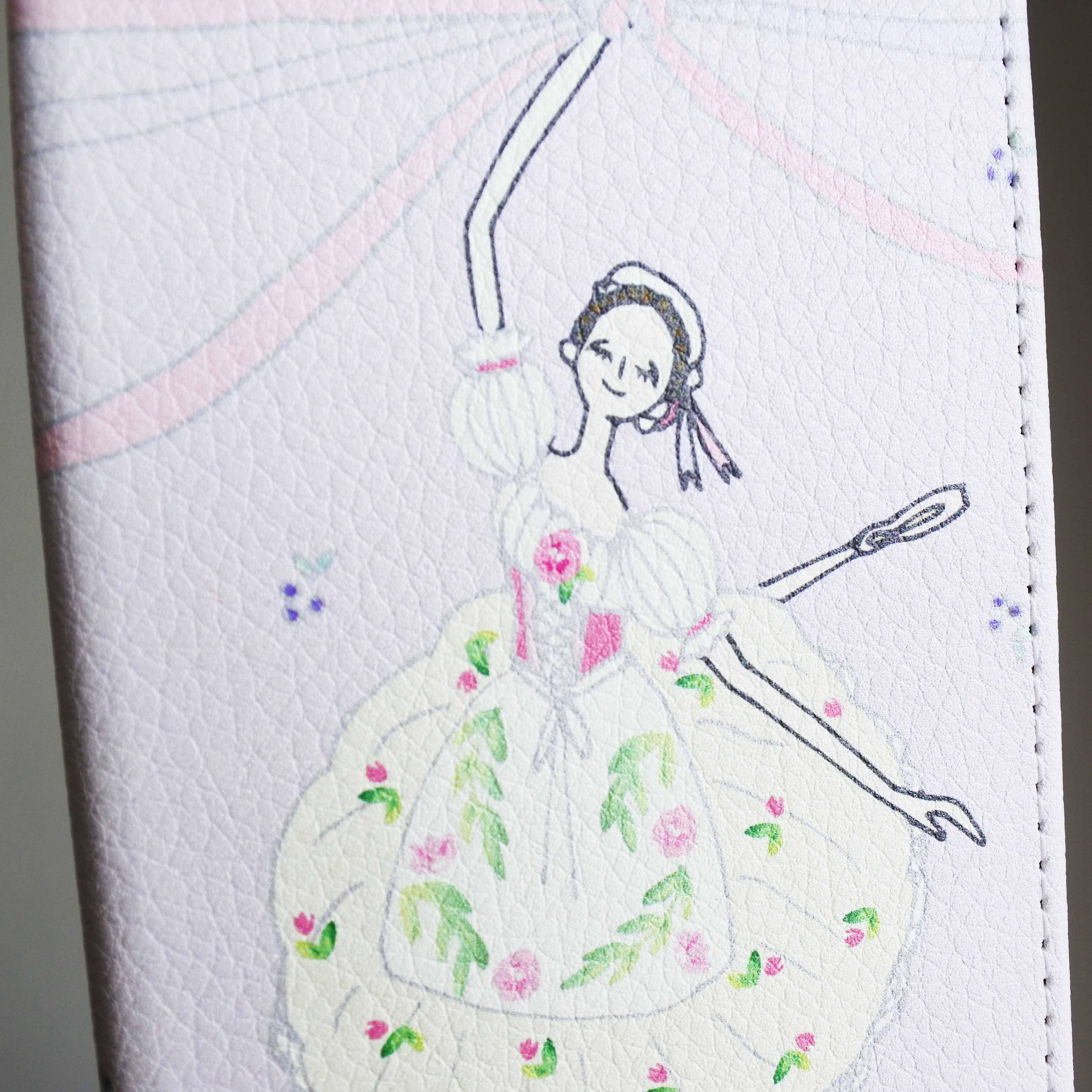 (iPhone)リーズの結婚 手帳型スマホケース - 画像3