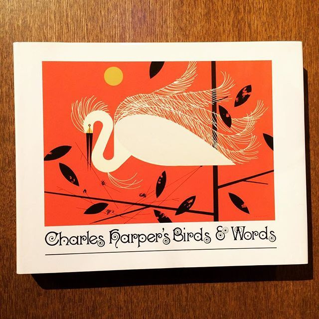 イラスト集「Charles Harper's Birds & Words」 - 画像1