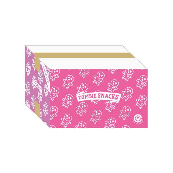 【ケース販売】ゾンビスナック2 ピンク&紫 エビのアヒージョ味