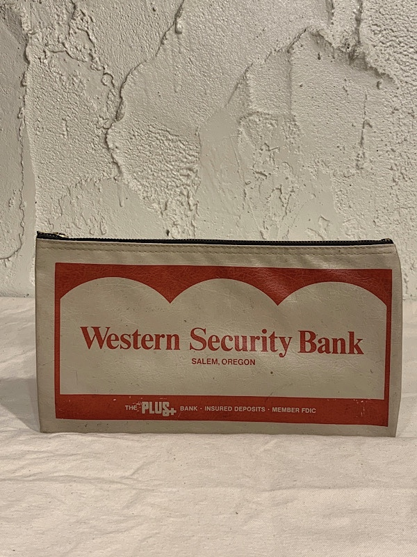 "BANK BAG "" WESTERN SECURITY BANK """