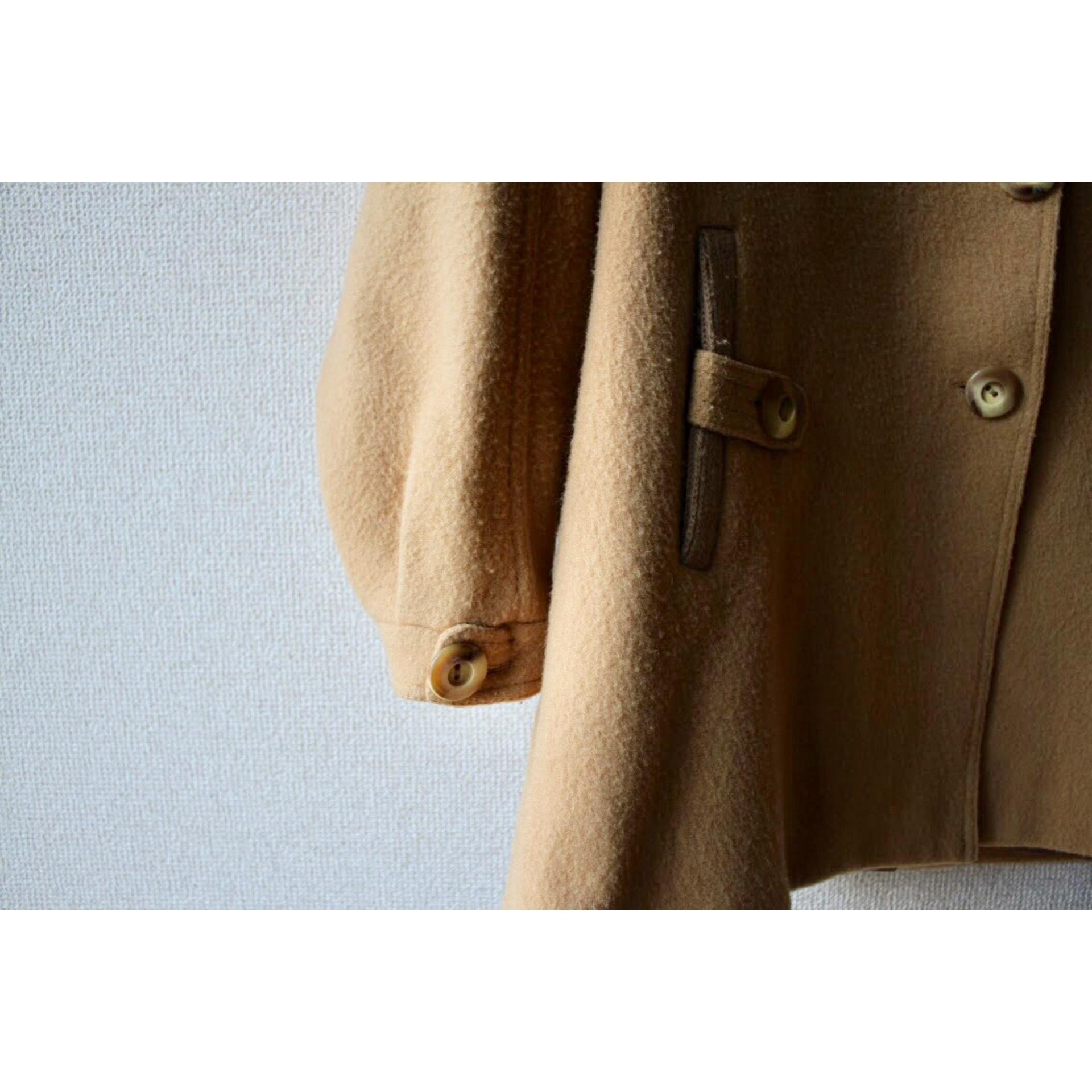 Vintage rib collar coat