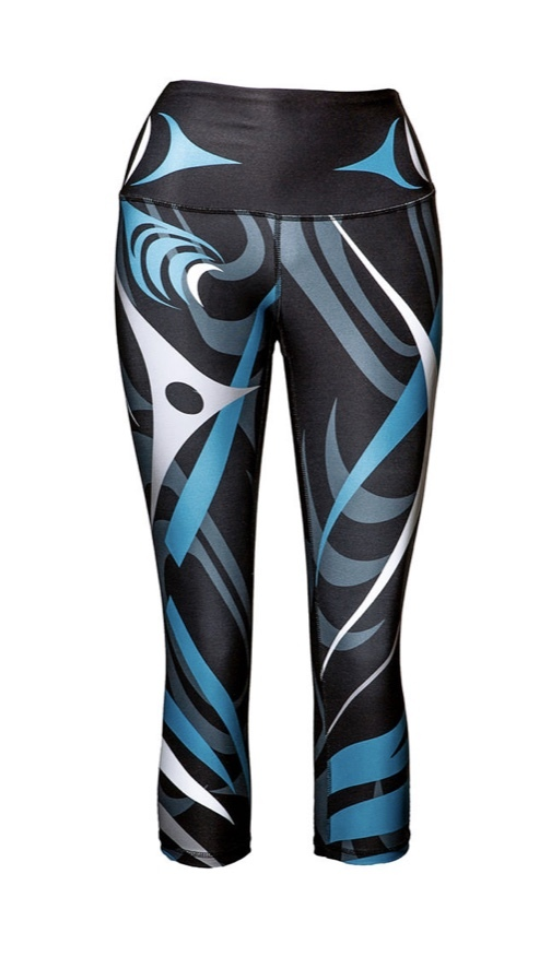 Sacred Salish Motion Capri
