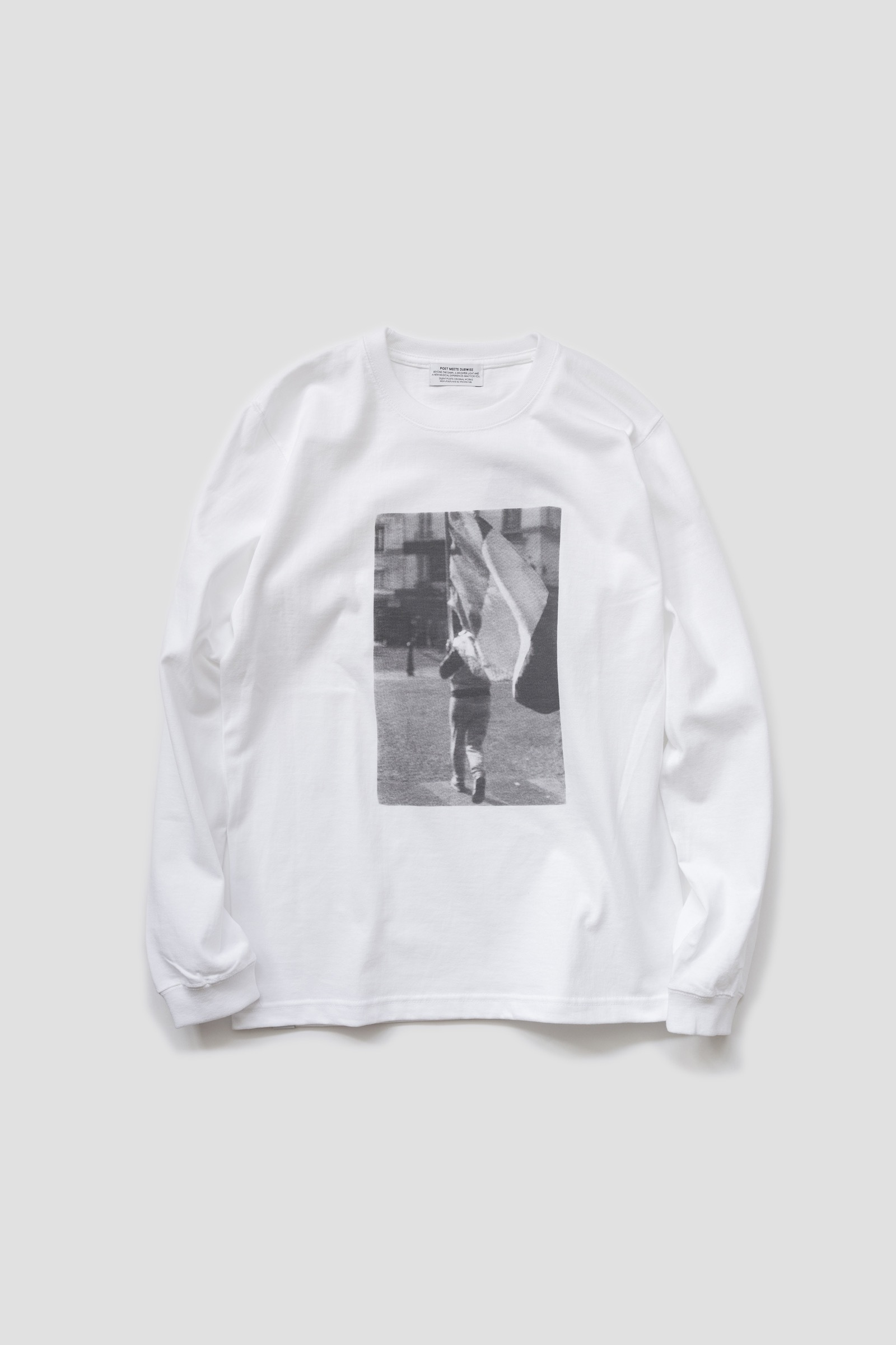 【POET MEETS DUBWISE(ポエトミーツダブワイズ)】 POTENTIAL MEETING LONG SLEEVE TEE