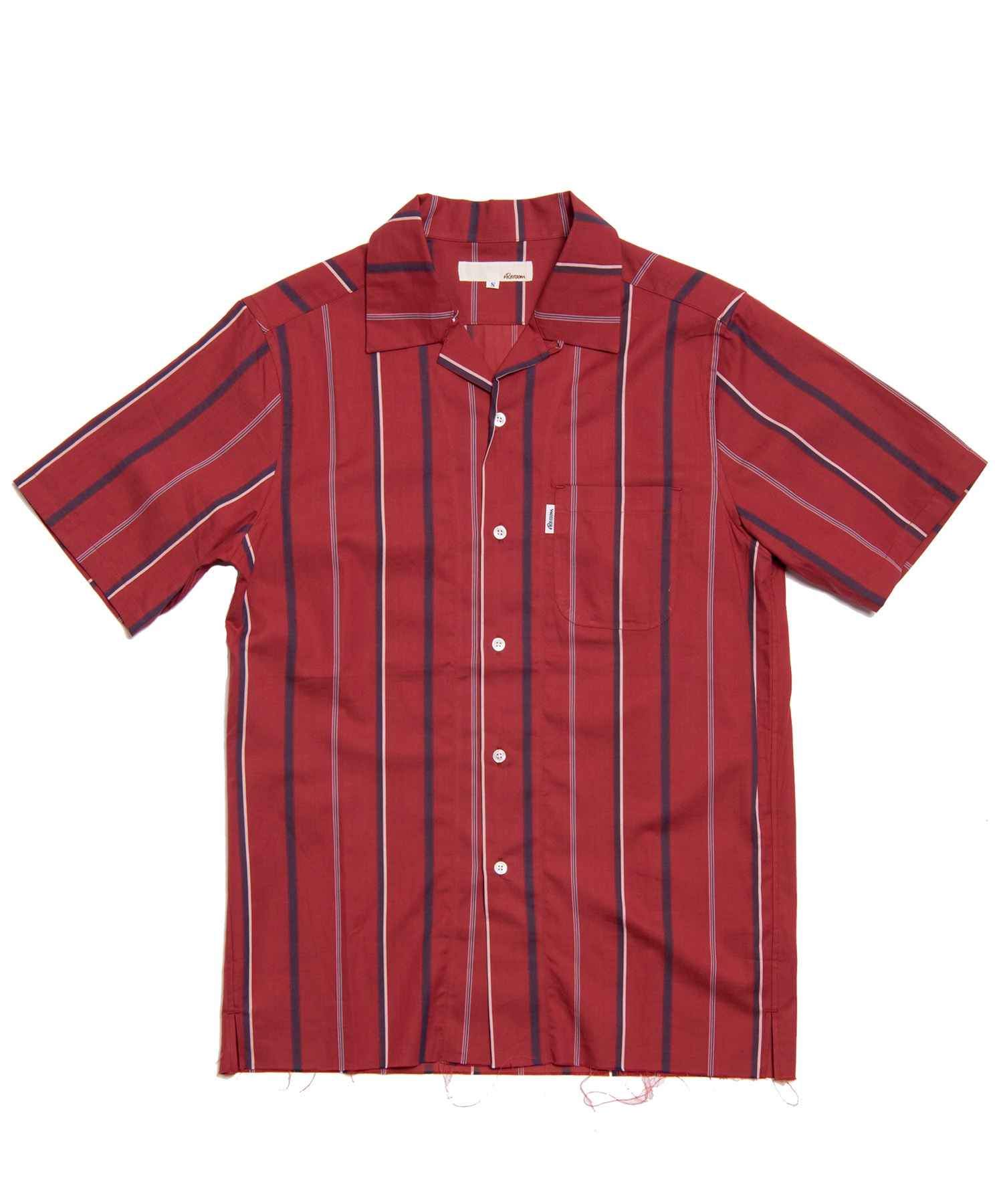 OPEN COLLAR STRIPE SHIRTS[RES025]