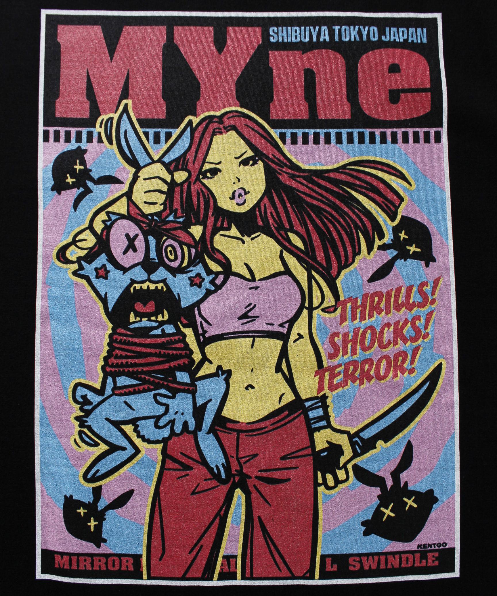 MYne CODEX 別注T-shirt / BLACK - 画像4