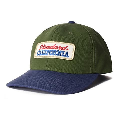 STANDARD CALIFORNIA #SD Logo Patch Canvas Cap