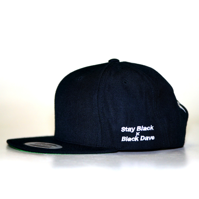 Stay Black × Black Dave Thrasher Snap Back