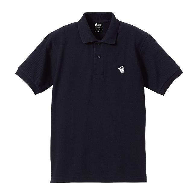 King Logo Polo-Shirt / Navy - 画像4