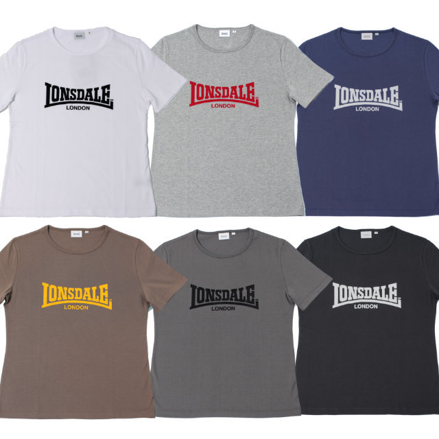BASIC Tee 【LONSDALE】