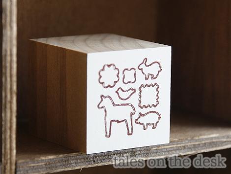 スタンプ - クッキー - tales on the desk