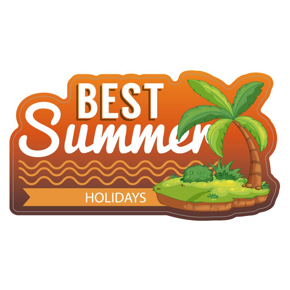 "224 BEST Summer! ""California Market Center"" アメリカンステッカー スーツケース シール"