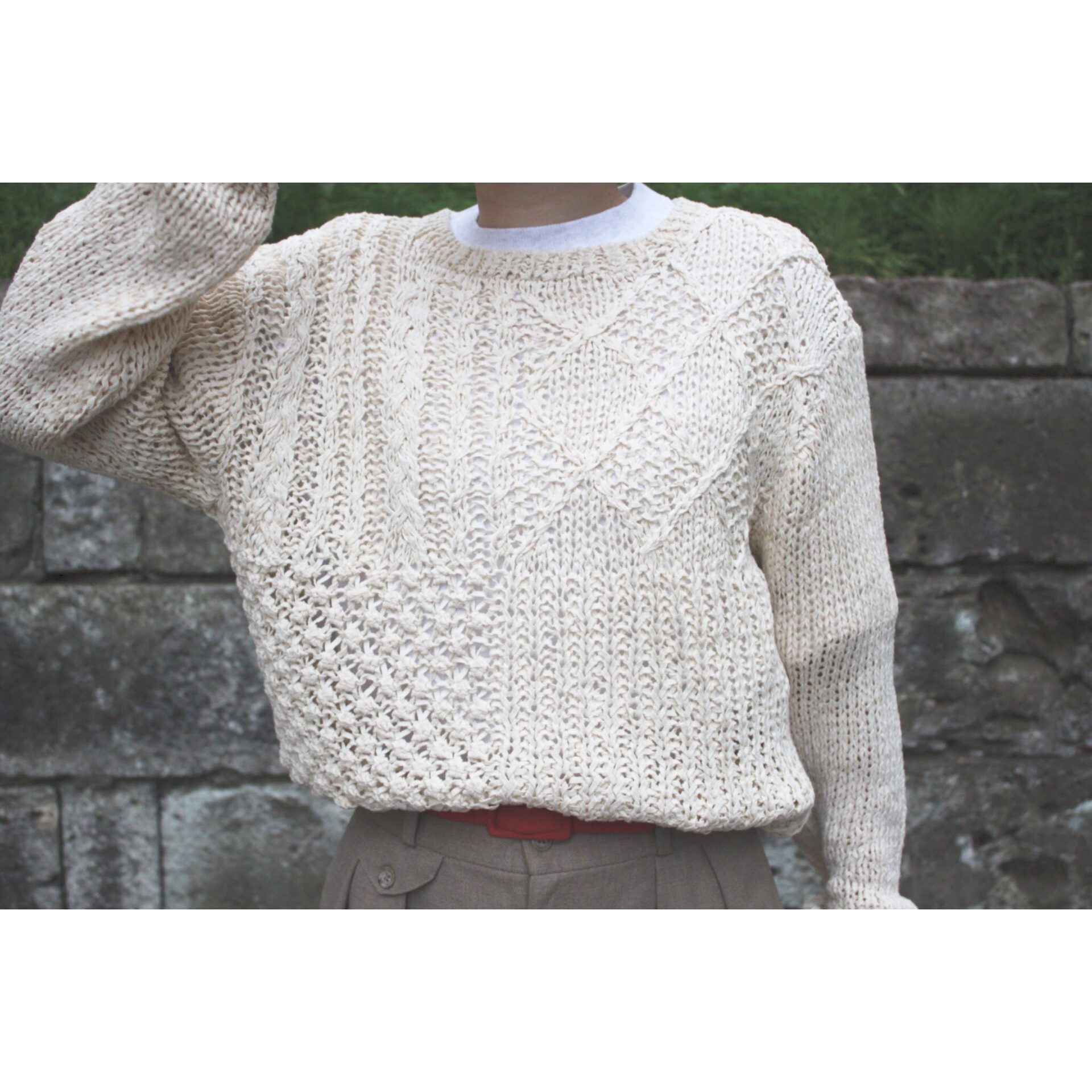 Vintage see through knit