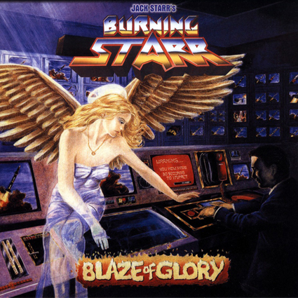 "JACK STARR'S BURNING STARR ""Blaze Of Glory"" (輸入盤)"