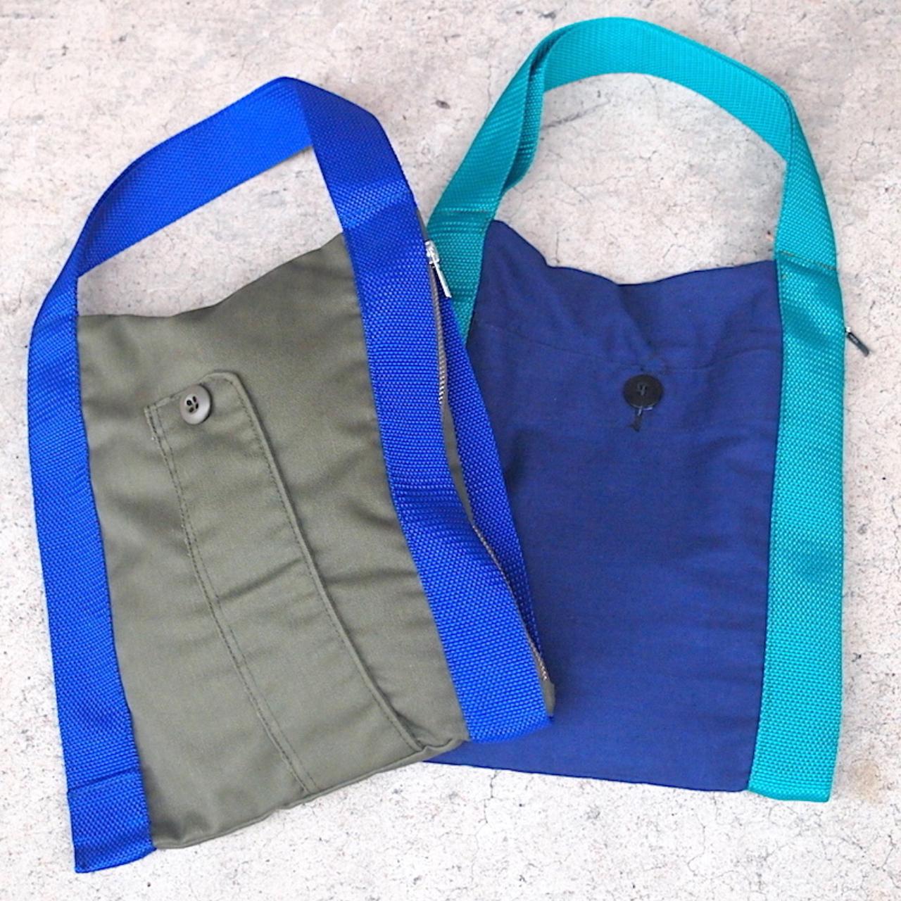 【sandglass】rectangle mini bag / 【サンドグラス】クケイ ミニ バッグ