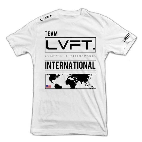 LIVE FIT International Tee - White VF901