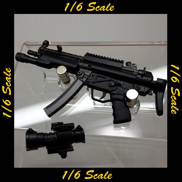 【00950】 1/6 DAMToys SDU MP5A3 サブマシンガン