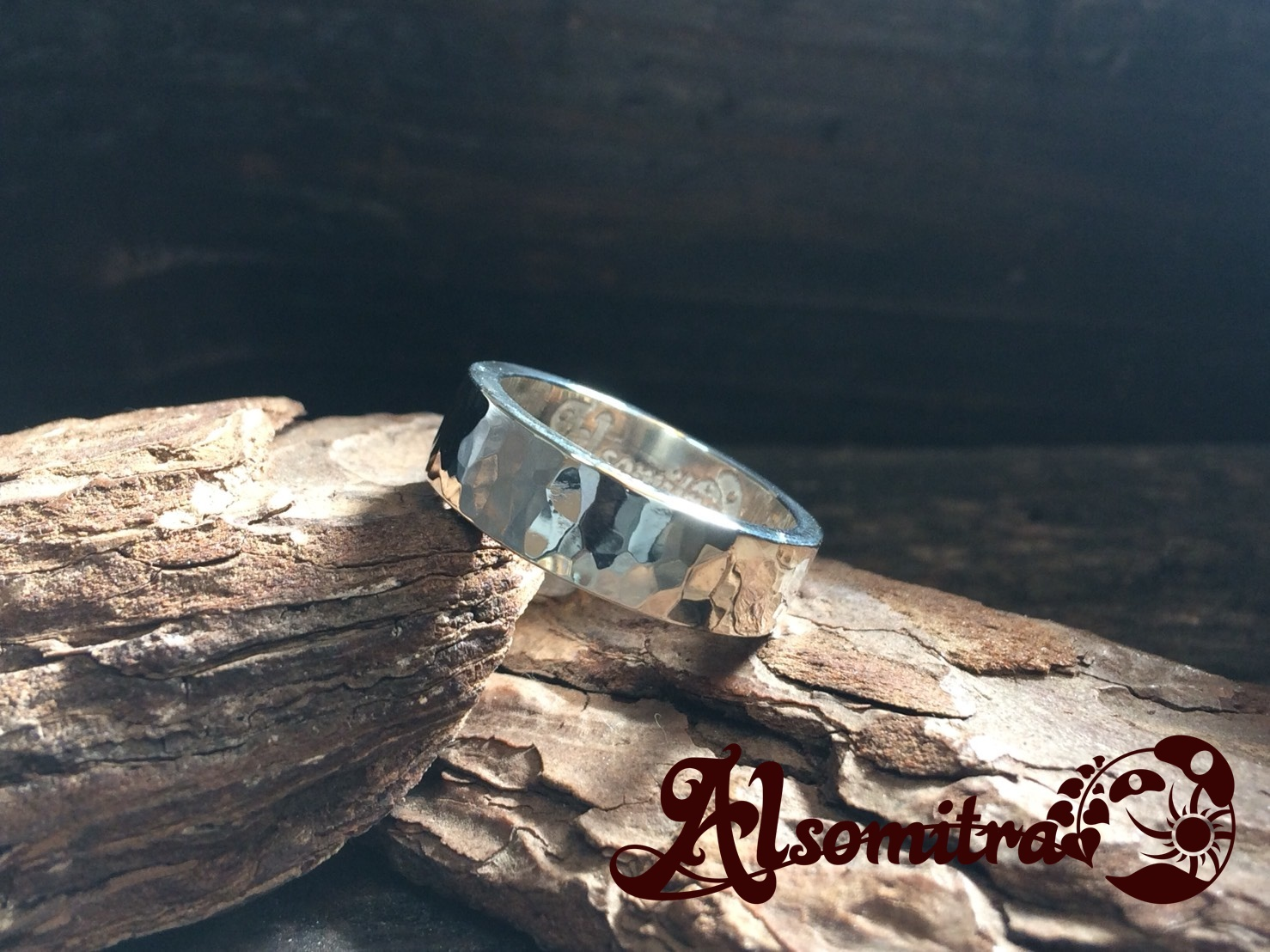 Hammered Ring(S) - 鎚目模様リング(S)