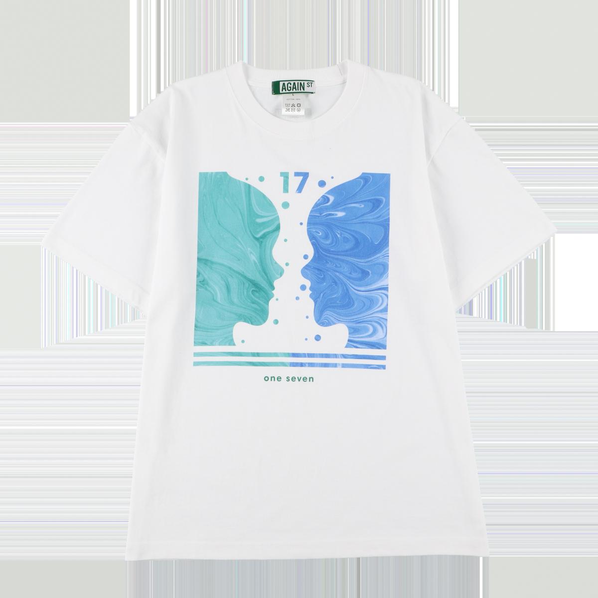 17 tee S/S White