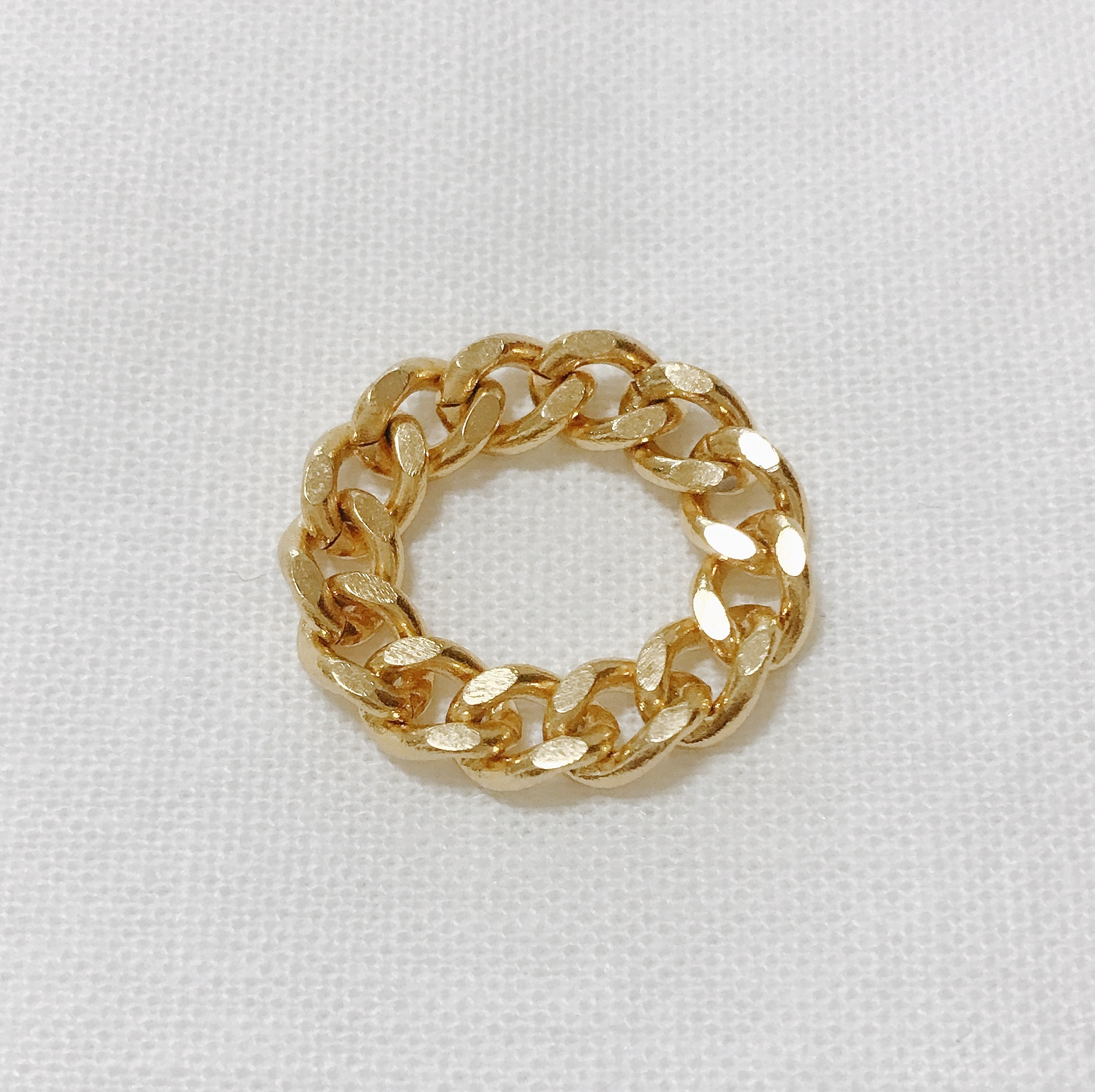 chiro gold chain ring chiro