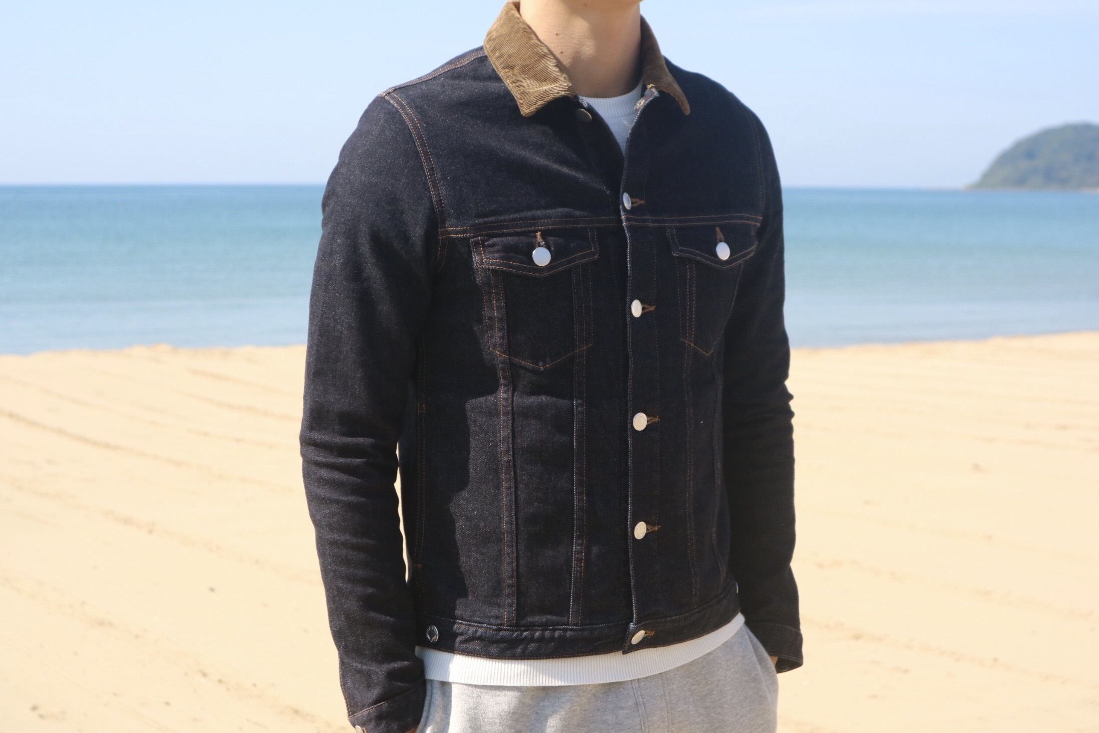ThreeArrows ALOHA Denim Jacket(indigo)
