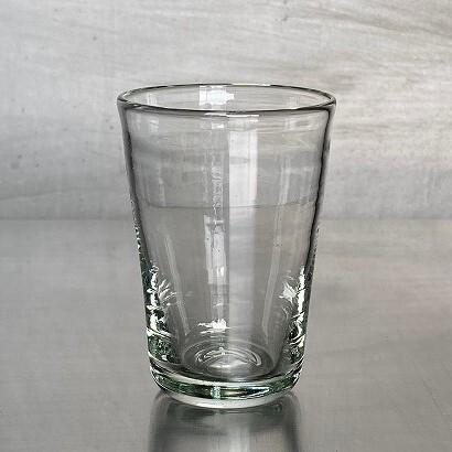 薬飲みグラス【再生ガラス工房 てとてと】